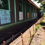 S3Bilde av veggen med maleri på skolen